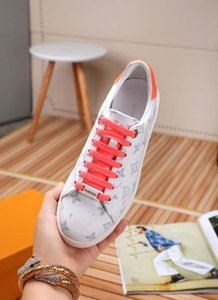 2020 Italian luxury flat ACE female designer shoes ins super fire shoes leather couple models men and women casual shoes thick bottom white