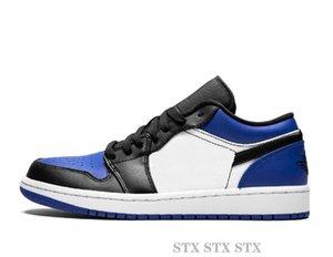 Erkek ve Alçak Basketbol Ayakkabı 1s Siyah Toe Cour Mor womens Arkalık Marka Tasarımcı Spor Ayakkabı Moda Sneakers C22 hattered