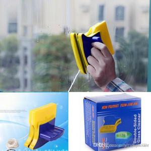 60PCS / الكثير متعددة الوظائف ممسحة الزجاج ضعف الجانب المغناطيسي فرشاة تنظيف المنزلية المحمولة أداة تنظيف النوافذ الزجاج 3-8mm