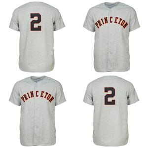 Princeton Tigers 1948 Maillot Route personnalisé Hommes Femmes Enfants Baseball Maillots Tout nom et numéro Double Stitched
