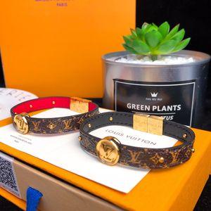 Doppelseitiges Armband Damen Designer-Schmuck klassische Overlay geometrische Muster mit fester Farbe doppelseitigem Armband