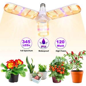 الصمام تنمو ضوء المصباح، E27 120W / 160W طوي أشعة الشمس كامل الطيف النمو أضواء للنباتات الداخلية، الخضروات، الدفيئة المائية النمو مصباح