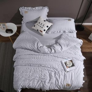 Wholesale 4PCS Duvet Set Duvet Cover Pillowcase Bedding Bag Sheet For TWIN Full QUEEN KING California King Size