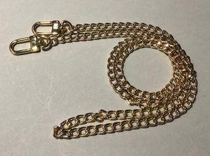 pedido del cliente, L 120cm DIY metal correa de la cadena del hombro / Crossbody Para Funcional / Mini POCHETTE bolsa / Mini bolsa de casos cosméticos