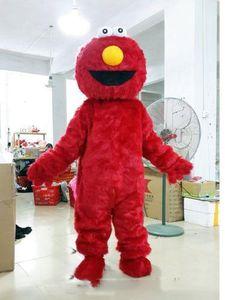 Venda direta da fábrica Casal Sesame Street Cookie Monster e ELMO Mascot Costume Adult Cartoon Costume