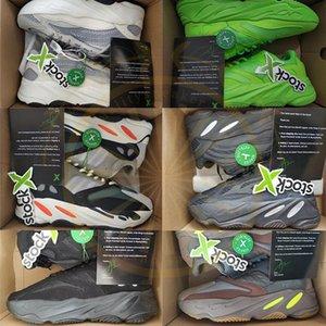 boost 350X v2 Tag 700 Static Vanta Analog V2 Running Shoes Kanye West 3m Reflective Black White Mauve Designer Sport Sneakers Trainers Siz