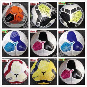 2020 Tamaño de la bola de fútbol 5 de alto grado de coincidencia agradable liga premer Size 4 19 20 balones de fútbol del club de la Liga (SHIP las bolas sin aire)