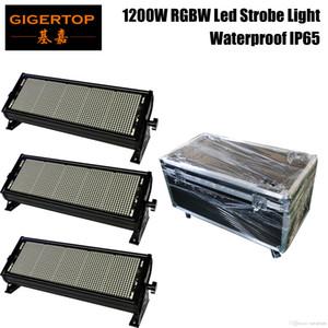TIPTOP Led Açık RGBW 1200W, renkli bir Strobe Profesyonel Sahne Aydınlatma 1200 x 1W Süper Parlak Sahne Flaş Aydınlatma IP65