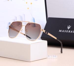 Óculos de marca de moda, homens e mulheres viajam ao ar livre dirigindo óculos de sol polarizados. Personalidade na moda óculos de sol de alta qualidade