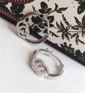S925 reiner silverdrop Ohrring mit Diamantform baumeln earringwomen und Freundin Schmuck Geschenk freies Verschiffen PS6849A