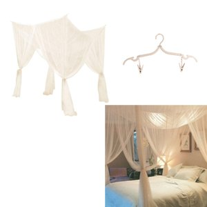 4 Canto Publicar Bed Canopy Mosquito Net Hanging Bedroom