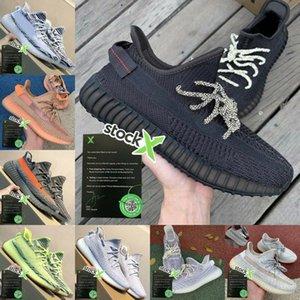 adidas yeezy 350 Les ventes 2020 Kanye West Terre Desert Sage Cinder Zyon Lin Lin Lumière Queue Gid Noir État 3M Reflective Yecheil Hommes Femmes Chaussures de course