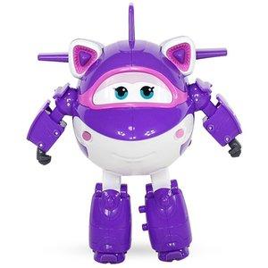 En Yeni Büyük Süper Wings Krystal Deformasyon Uçak Robot Eylem Süper Kanat Dönüşüm oyuncaklar T200704 Şekil