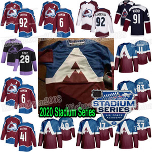 Colorado Avalanche 2020 Stadium Series Мэтт Калверт Мэтт Ньето Джей Ти Компер Тайсон Йост Сэмюэл Жирар Ян Коул Беллемар Эрик Джонсон Джерси