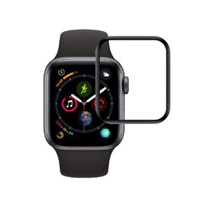40mm 44mm 42mm 38mm Full Coverage 3D Tempered Glass for Apple Watch Series 4 3 2 Curved surface 9H Glass Screen Protector for iWatch
