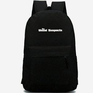 Şüpheliler sırt çantası normal sırt çantası Kevin Spacey schoolbag Filmi eğlence sırt çantası Spor okul çantası Açık gün paketi