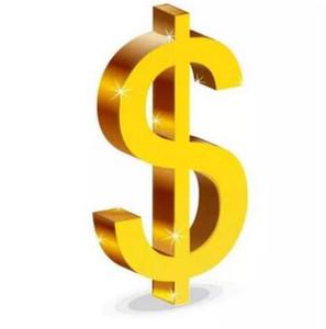 Разница в цене заполнения одного доллара Оплата за доставку DHL EMS Различный сбор за доставку и упаковочная коробка Различная дополнительная стоимость