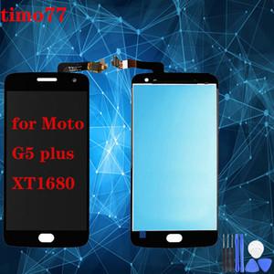 Screen Display LCD tela Assembly Original Para Motorola Moto G5 Além disso XT1680 Peças de Reposição Black Gold 5,2 polegadas
