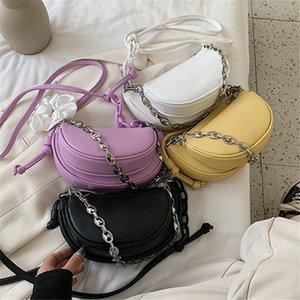 Original Design Texture Bag 2020 New Fashion Joker Shoulder Messenger Bag Chain Saddle