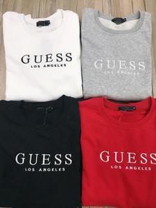 mens designers de hoodies Impressão Carta camisola Mulheres / homens Hoodie longo da luva Outerwears Suéter para a2GUESS Designers Hoodies