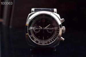 moda relógios 19Wholesale, feitos de aço 361L inoxidável, relógios mecânicos manuais do homem, 7750 núcleo operado à mão, 45MM, impermeável