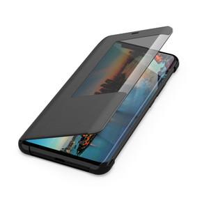 Abdeckungen Mate20x Smart View Window Ledertasche für Huawei Mate 20 Pro Cover Stand Handygehäuse Mate 20X Mate20