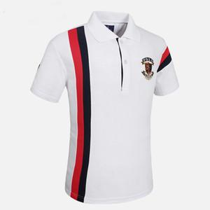 2019 Reserva aramy Camisa pólo dos homens reservado camiseta masculina Algodão de manga curta slim fit roupas masculinas / CF551