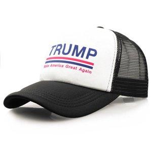 Colorido Trump Unisex Baseball Bola Cap Casquette Mantenha América Grande 2020 Hat Moda Donald Trump malha Praia Cap Verão Bola Sunhat B52002