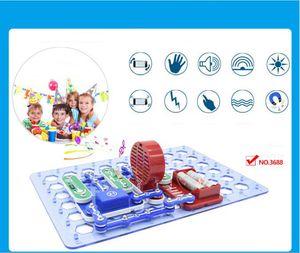 Дети DIY Электричество Физический эксперимент «Discovery Toys» STEM Образовательный набор «Физический эксперимент» Школьный проект