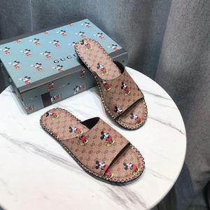 brand Men Slippers Luxury designer Flip Flops Women Summer Slides Male Type Couple Beach Shoes Home Zapatos Mujer sandals gg