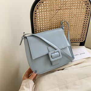 Minority handbag Messenger Bag 2020 new wave of Korean fashion small square package underarm bag large capacity shoulder bag