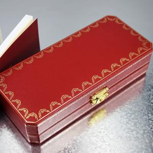 2 стили высокого качества Офис Школа Stationery высшего сорта Красный и Золотой Обрезка Lockable Роскошный подарок Ручка коробки с гарантийным Руководства