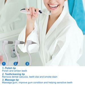 Outil dentaire électrique Onde sonore dents Stain Gomme Plaque Remover Blanchiment des dents de nettoyage dentaire Scaler dents Odontologia outil