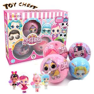 COFFRE de JOUET 2019 Chine lol Surprise Baby Doll Eggs Tricky Devinez la balle au hasard aveugle boîte fille jouets anniversaire décoration cadeau Collect Toy