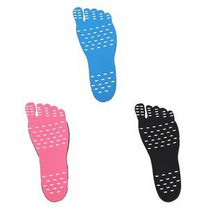 equipamentos HOT Beach Barefoot Beach Water Sports Invisible Shoes Palmilha isolamento térmico impermeável antiderrapante da vara em Adhesive Pé Proteção