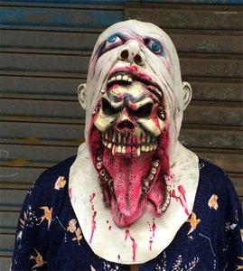 Мертвые Зомби Косплей Маски Латекс Унисекс Маска Хэллоуин Страшный Фильм Костюм Аксессуары Прогулки