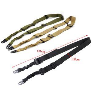 Tácticos 2 puntos de cabestrillo pistola rifle y el sistema de cabestrillo misión Dual-punto del hombro mochila correa con longitud ajustable