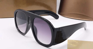 Designer Luxury Men and Women Brand Sunglasses Fashion Oval Sun glasses UV Protection Lens Coating Frameless Plated Frame With box Case