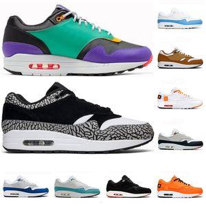 2020 Llegada 1 Top 3 1s DLX ATMOS Hombres Mujeres zapatos de diseño clásicos Airs 87 zapatillas de deporte de lujo tamaño atlético Zapatos capacitadores 36-45 Running