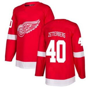 Men's Red Red Wings # 40 Zetterberg Red Home Stitched Jersey, 71 LARKIN 8 ABDELKADER negozio online in vendita Hockey Jersey shirts