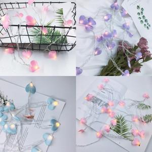 LED Love Heart Light String Multi colori Peach Hearts Corde Lampada Girl Room Decorazione Luci colorate 5 8yl L1