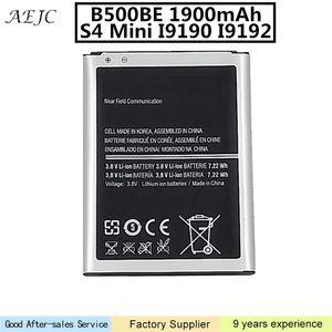 Samsung Galaxy S4 Mini Pil İçin 1900mAh B500BE Pil İçin Samsung S4 Mini Pil I9190 I9198 I9192 I9195 Değiştirme