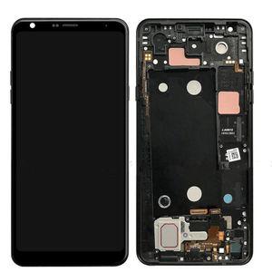 6,2 '' для LG Q Stylo 4 ЖК-дисплей Stylo4 Q710 Q710MS Q710CS LG LG Stylo 4 ЖК-дисплей с сенсорным экраном в сборе рамка планшета Q710 экран с бесплатной доставкой
