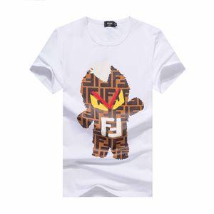 2020ss stampa uomini maglietta moda casual Medusa maglietta manica corta estate piani in cristallo Skulls T-Shirt Design Marca Mens T-shir