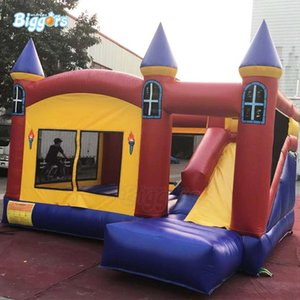 PVC gonflable commercial solide Bounce House Bouncy Castle Kids Game Avec Free Souffleur