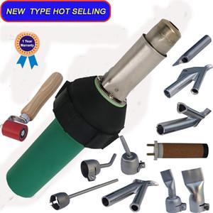 평면 용접 노즐 및 롤러와 플라스틱 용접기 TPO 지붕 용의 HDPE에 막 용접기 용 열풍 용접 총