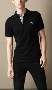 моды мужских поло вершины 2020 Brand New Summer т рубашка мужчина Poloshirt рубашки High Street мужского Polos GG123