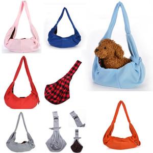 Cão Portador Totes Pet bag Sacos de Ombro canil Para Cães Pequenos Cozy Macio Filhote de Cachorro Mochila Sling Bags Pet Dog acessórios 7colors HH9-2148
