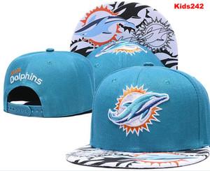 Bon chapeau enfants de la jeunesse Qualité Miami balle Casquette de baseball de broderie Adjustbale Snapbacks réglable filles chapeau d'été