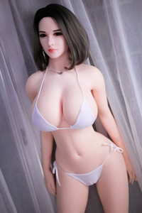 2019 New Huge Big Ass and Breast Sexy Half Silicone Chubby Sex Love Dolls Lifelike Adult Sex Toys Fat Life Size Oral Sex Dolls for Men